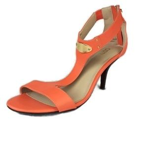 Cato Heels Shoes Open Toe 9W Slingback